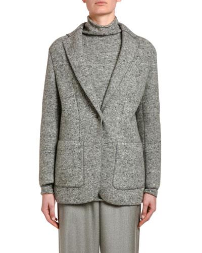 Tweed Oversized Jacket
