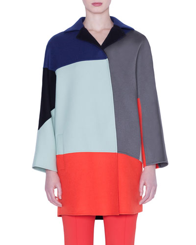 Einstein Short Cashmere Coat
