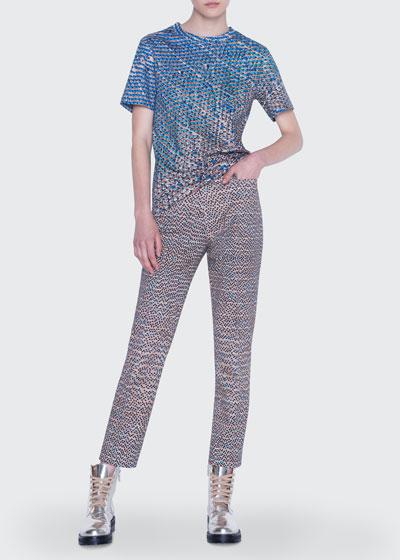 Franca Stretch Cotton Pants