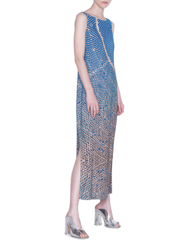 Viscose Blend Maxi Dress
