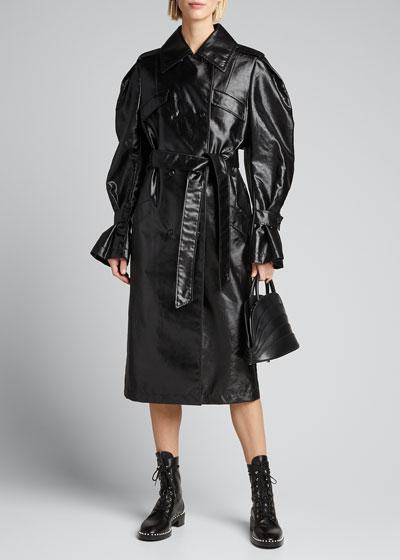 Full-Sleeve Trench Coat