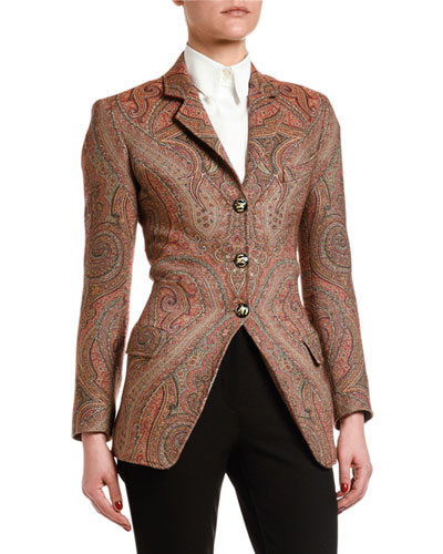 Equestrian Arnica Woven Jacket