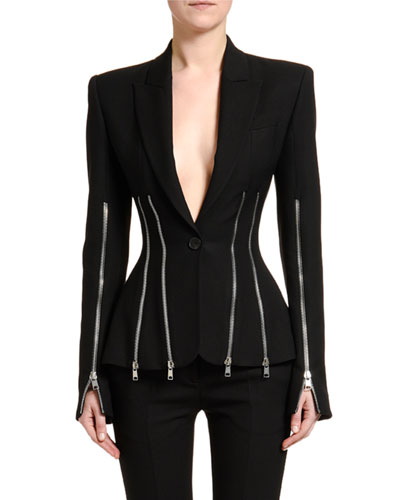 Zip-Trim Blazer