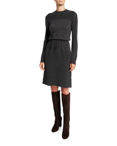 Kensington Cashmere Ribbed Dress