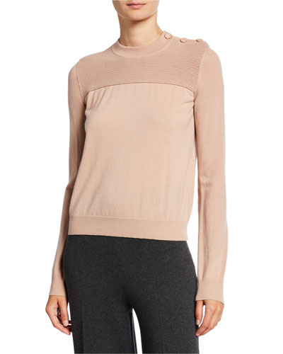 Kensington Cashmere Ribbed Sweater