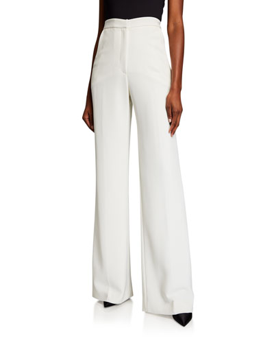 Maggie High-Rise Flare-Leg Pants