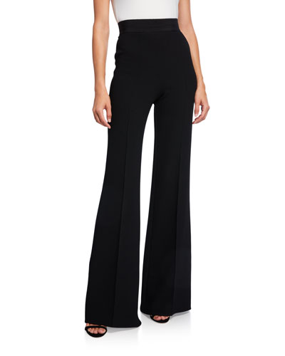 Felipa Wool High-Rise Flare Pants