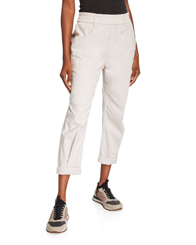 Cotton Utility Pants