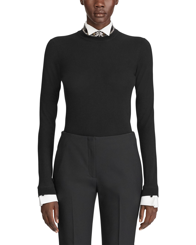 Ralph Lauren Sweaters CASHMERE CREWNECK SWEATER
