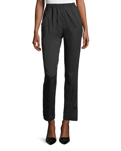 Seamed Narrow Trousers
