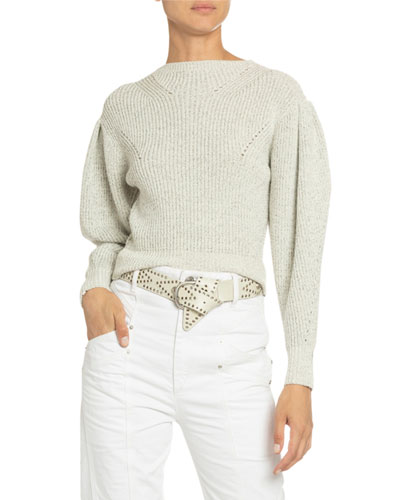 Cotton-Wool Crewneck Sweater
