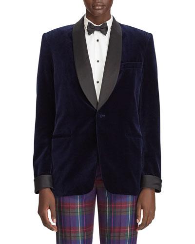 Cyrene Velvet Menswear Jacket