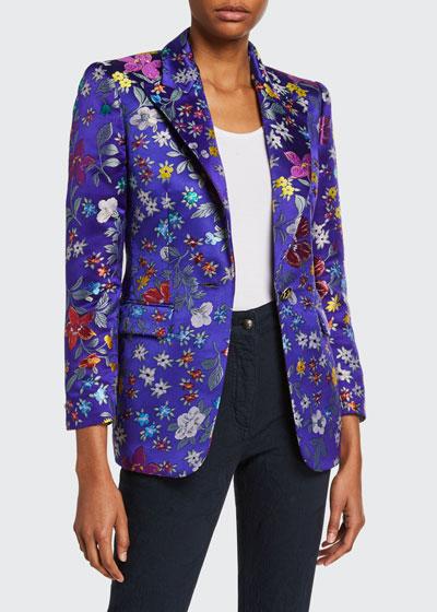 Small Floral Brocade Jacket