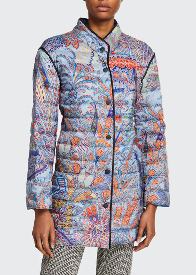 Dreamtime Paisley Quilted Coat