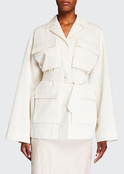 Cotton/Wool Safari Jacket