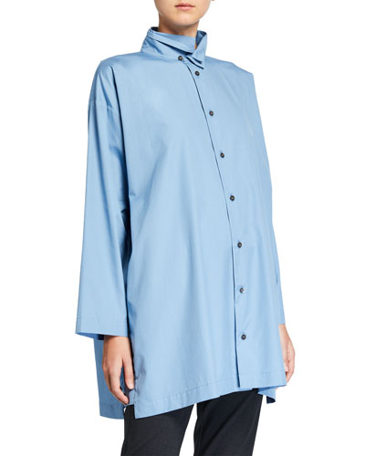 A-Line Two-Collar Shirt