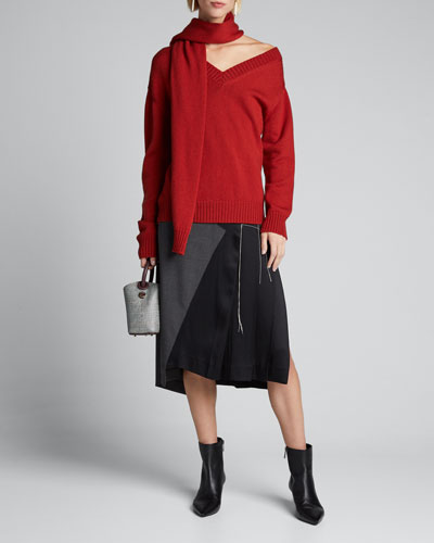 Half-Trouser Pleated Skirt