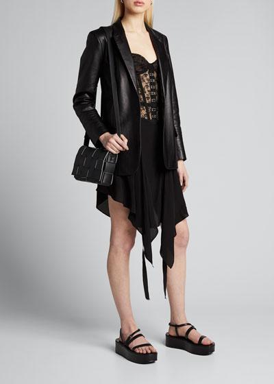 Lace Corset Handkerchief Dress