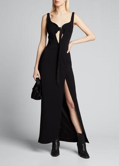 Sleeveless Sweetheart Gown