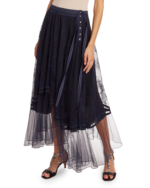 Chloé Skirts CHANTILLY LACE SKIRT