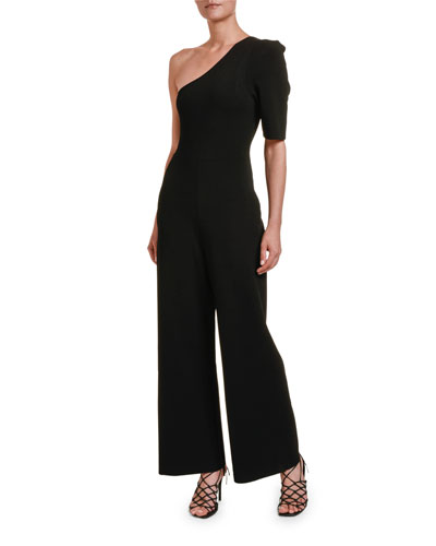 Compact Knit All-in-One Jumpsuit
