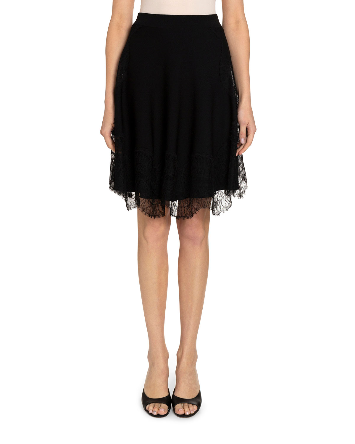Givenchy Skirts WAVY LACE SKIRT