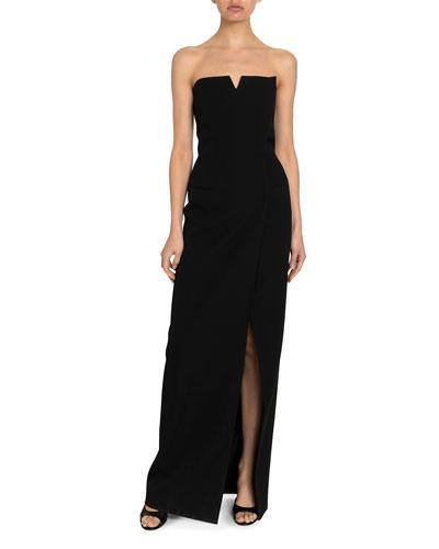 Graine de Poudre Strapless Bustier Fitted Dress