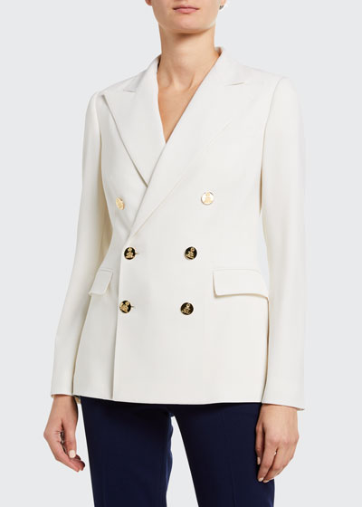 Camden Stretch Wool Double-Breasted Jacket