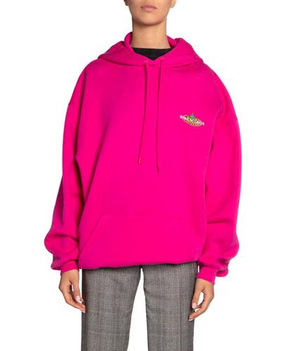 Hooded Bonjour Sweatshirt