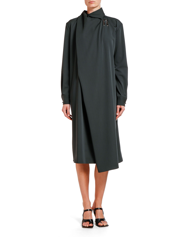Bottega Veneta Dress LIQUID GABARDINE SHIFT DRESS