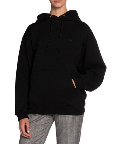 Logo-Embroidered Hooded Sweatshirt