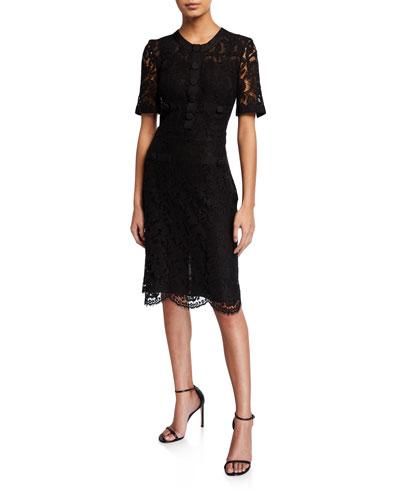 Tailored A-Line Dress