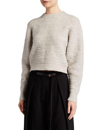 Nuru Fuzzy Cashmere Sweater