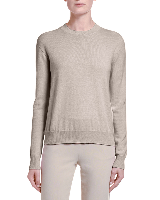 Giorgio Armani Sweaters ALASHAN CASHMERE SWEATER, BROWN
