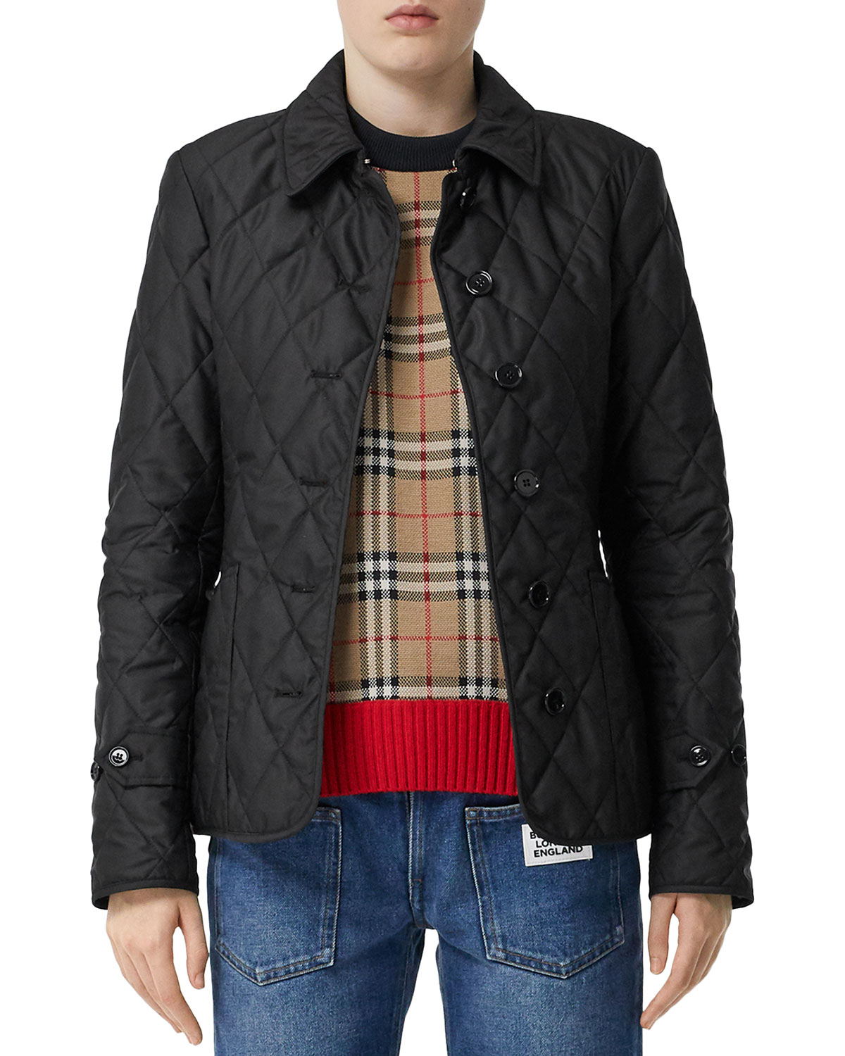 Burberry Jackets FERNLEIGH QUILTED JACKET