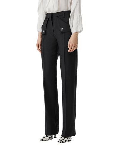 Zohra Wool Trousers