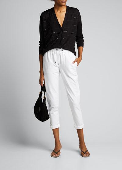 Felpa Zip-Pockets Jogger Pants
