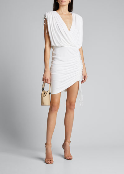 Side-Ruched Cocktail Dress