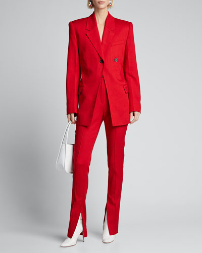 Fitted Waist Blazer