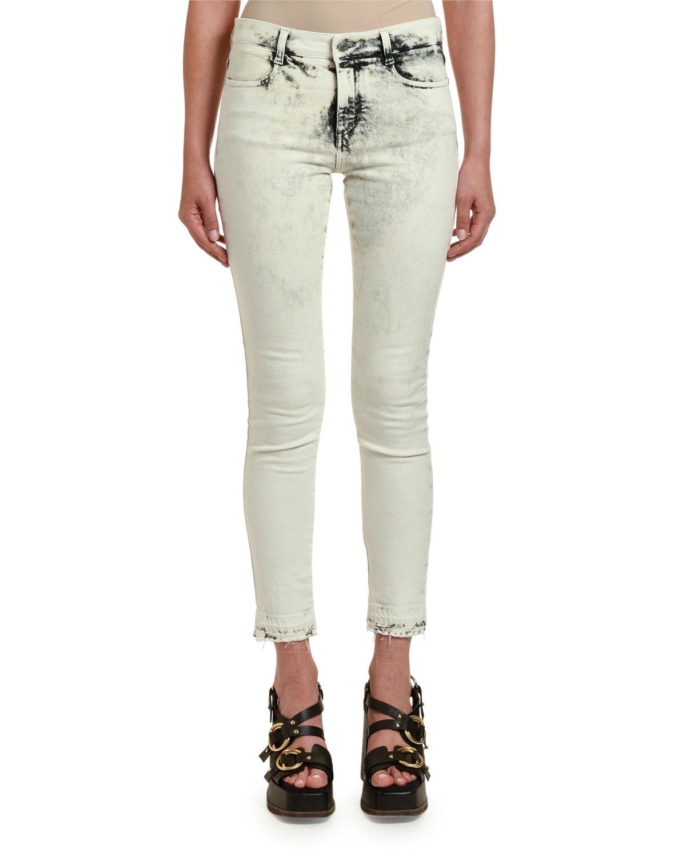 Stella Mccartney Jeans ACID-WASHED SKINNY JEANS