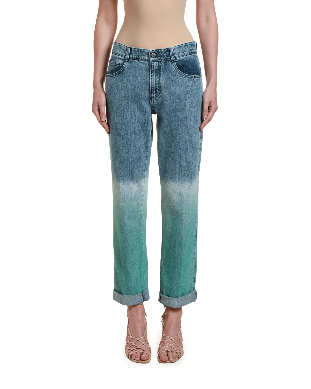 Stella Mccartney Jeans DEGRADE SLIM-FIT JEANS