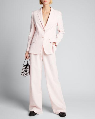 Adele Cotton Blazer Jacket