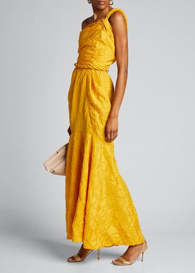 La Carolina One-Shoulder Dress