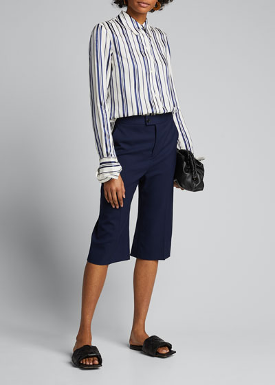 Cotton Multi-Striped Shirt