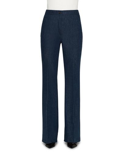 Farida High-Rise Denim Pants