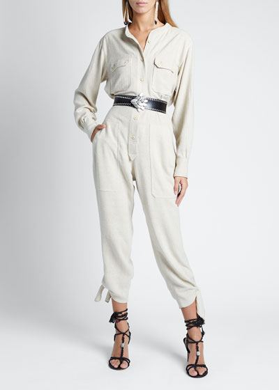 Fashion S//M Fit Black Deep V-Neck Sheer Mesh Cowl Back Casual Long Jumpsuit