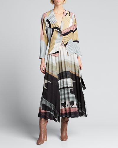 Panorama Pleated Skirt