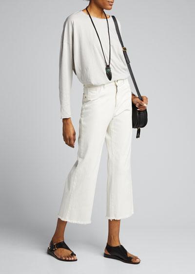 Double-Edge Long-Sleeve Shirt