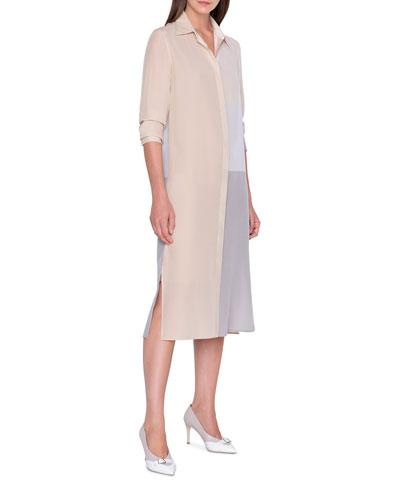Button-Front Dress