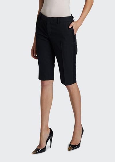 Grain de Poudre Bermuda Shorts